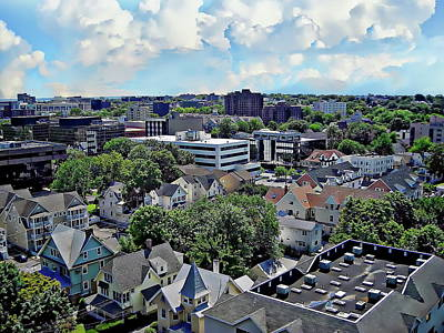 Photograph - Stamford Aerial by Anthony Dezenzio