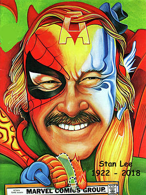 Photograph - Stan Lee - 1922 - 2018  by Doc Braham