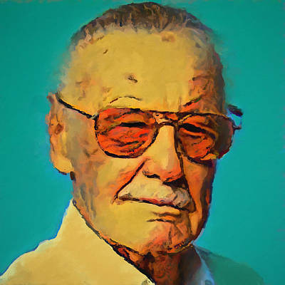 Painting - Stan Lee by Dan Sproul