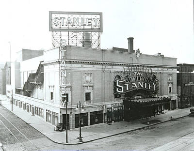 Photograph - Stanley Theatre, Philadelphia by Unknown