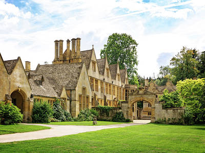 Photograph - Stanway House England by Joe Winkler