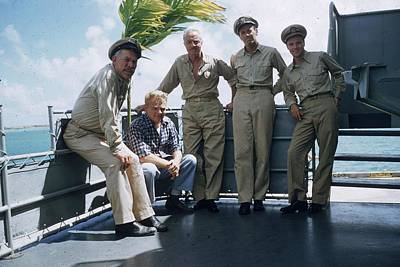 Photograph - Star Navy by Slim Aarons
