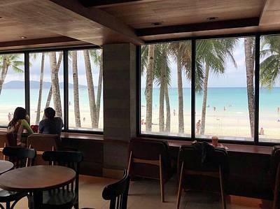 Starbucks In Boracay Island Original