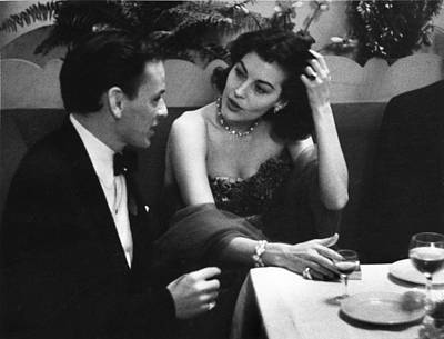 Photograph - Starry Couple by Bert Hardy