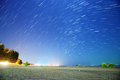 Photograph - Starry Night Above Beautiful Tropical by Primeimages