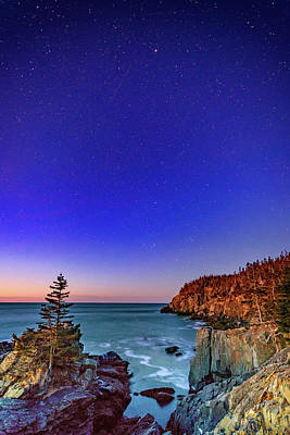 Photograph - Starry Night At Gulliver's Hole by Rick Berk