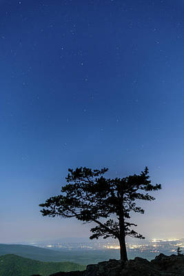 Photograph - Starry Night At Raven's Roost by Doug Ash