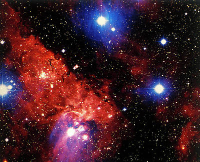 Photograph - Stars And Nebula by Terry Why