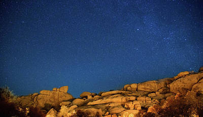 Photograph - Stars And Rocks by Kunal Mehra