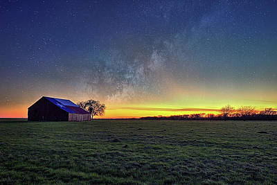 Photograph - Stars Over Texas by JC Findley