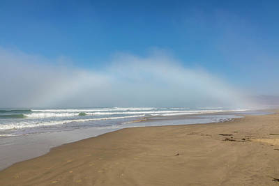 Photograph - Start Of The Rainbow Pismo State Park Ca by John McGraw