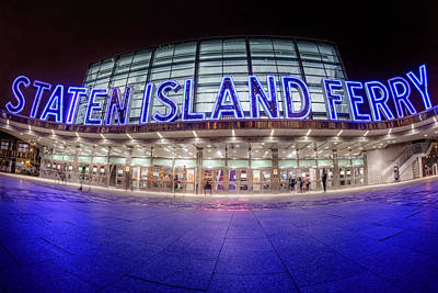 Photograph - Staten Island Ferry by Susan Candelario
