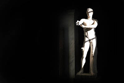 Photograph - Statue by Images Unlimited