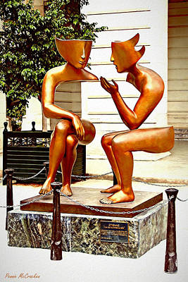Photograph - Statue Of Illusion - Old Havana by Pennie McCracken