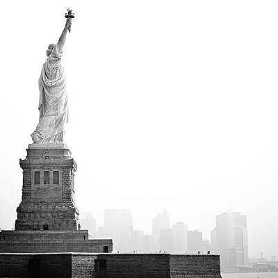 Photograph - Statue Of Liberty by Image - Natasha Maiolo