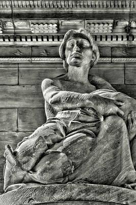 Photograph - Statue - Riverside Park Nyc by Robert Ullmann