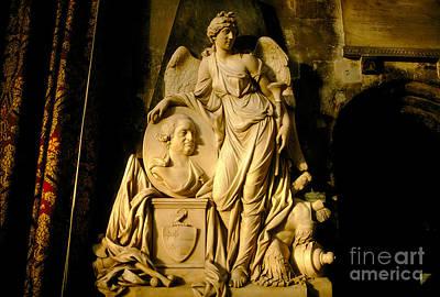 Caravaggio - Statue, Woman, Robes, Bath England by Wernher Krutein