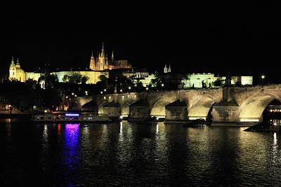 Photograph - St Charles Bridge Prague by Images Unlimited