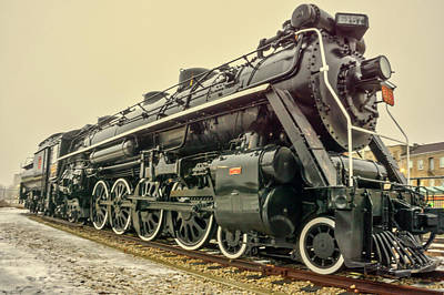 Photograph - Steam Engine Era by Nick Mares