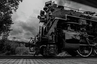 Steam Loco 765 Art Print