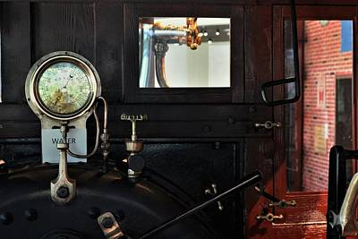 Keith Richards - Steam Locomotive Engine Guages by Christopher James