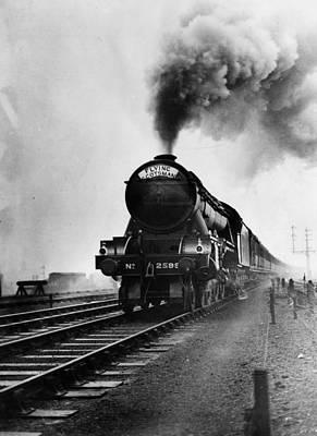 Photograph - Steam Power by Fox Photos