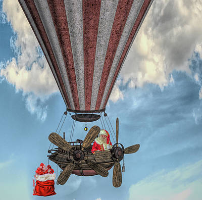 Steampunk Royalty-Free and Rights-Managed Images - Steam Punk Santa by Jim Hatch