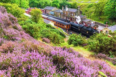 Graduation Sayings - Steam train at Goathland, North York Moors by David Ross