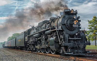 Photograph - Steam Train  by Richard Kopchock