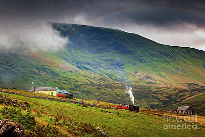 Photograph - Steam Trains To The Summit by Adrian Evans