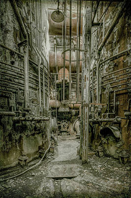 Photograph - Steel Mill by Ronald Santini