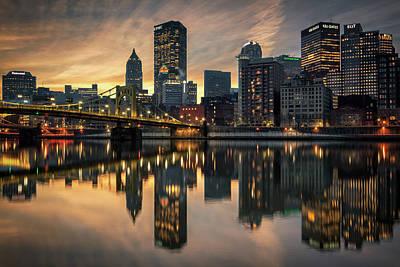 Photograph - Steel City Awakening  by Emmanuel Panagiotakis