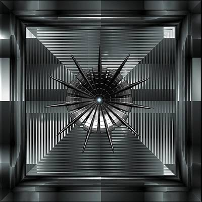 Digital Art - Steel Magnolia by Mario Carini