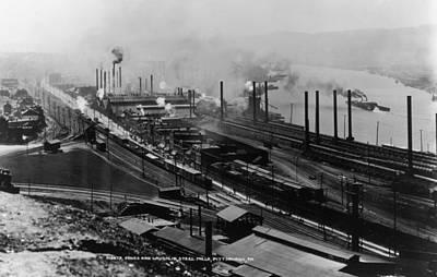 Steel Mills Art Print by Fotosearch