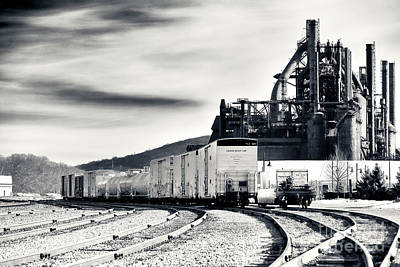 Photograph - Steel Shipping At Bethlehem Steel by John Rizzuto