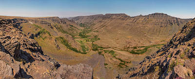 Photograph - Steens Mountain - Kiger Gorge by Loree Johnson