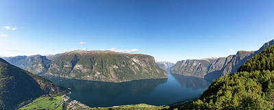 Photograph - Stegastein, Norway by Andreas Levi
