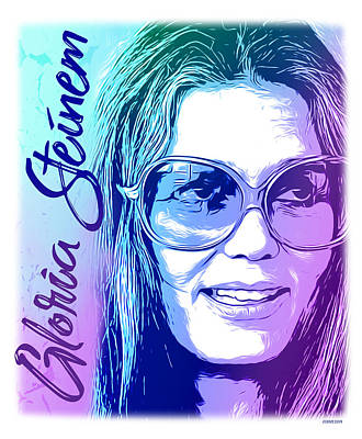 Digital Art Rights Managed Images - Steinem Royalty-Free Image by Greg Joens