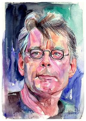 Stephen King Portrait Original