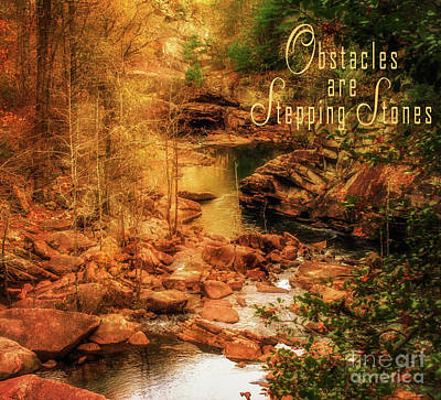 Photograph - Stepping Stones by James Hennis