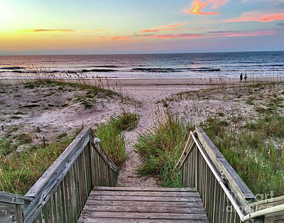 Photograph - Steps To The Beach by Kerri Farley