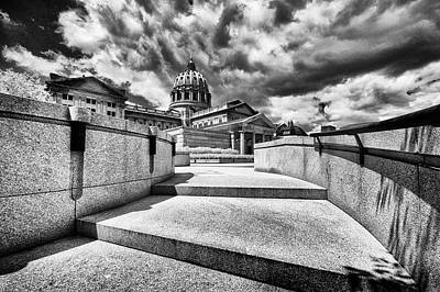 Photograph - Steps To The Pa Capital by Paul W Faust - Impressions of Light