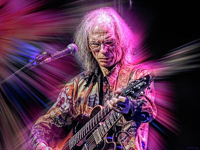 Jazz Mixed Media Royalty Free Images - Steve Howe Royalty-Free Image by Mal Bray