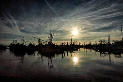 Photograph - Steveston Silhouettes by Monte Arnold