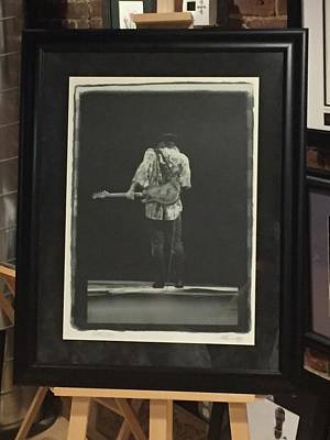 Photograph - Stevie Ray Vaughan By W.a. Williams by Iconic Images Art Gallery David Pucciarelli