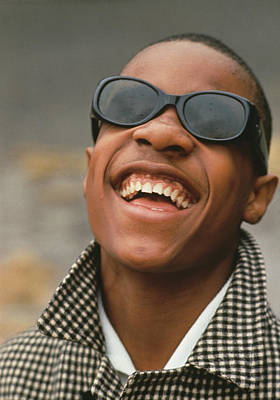 Photograph - Stevie Wonder by Archive Photos
