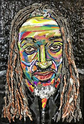 Mixed Media - Stevo by Deborah Stanley