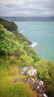 Photograph - Stewart Island New Zealand Hike by Joan Carroll