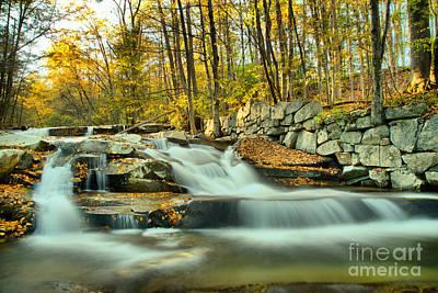 Photograph - Stickeny Brook Falls by Adam Jewell