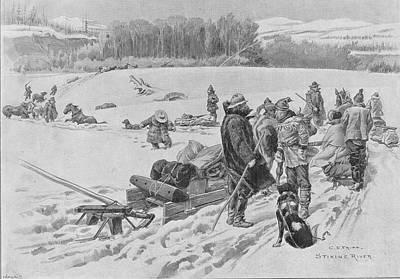 Stikine River Crossing Art Print by Hulton Archive